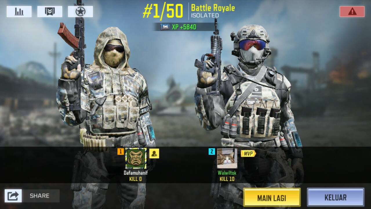 Tips Main Game Call Of Duty Battle Royale (COD) Auto Master Killer