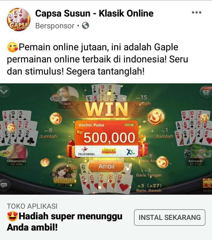 Download MOD Capsa Susun - Klasik Online Penghasil Pulsa ...