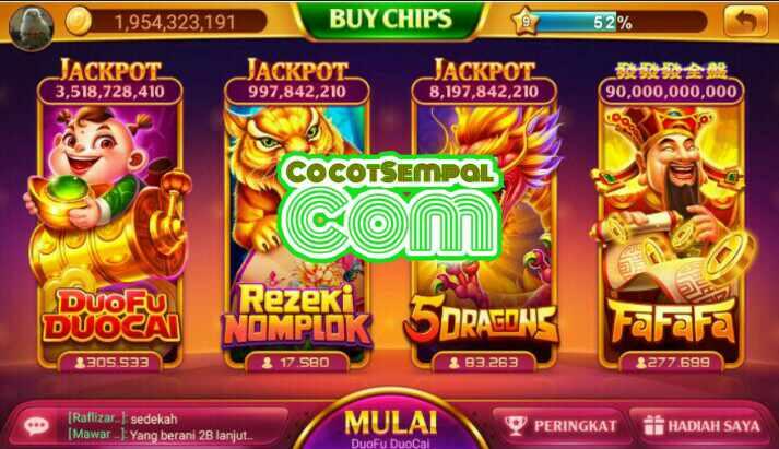 Cheat Slot Duo Fu Duo Cai Higgs Domino Island Game Kartu