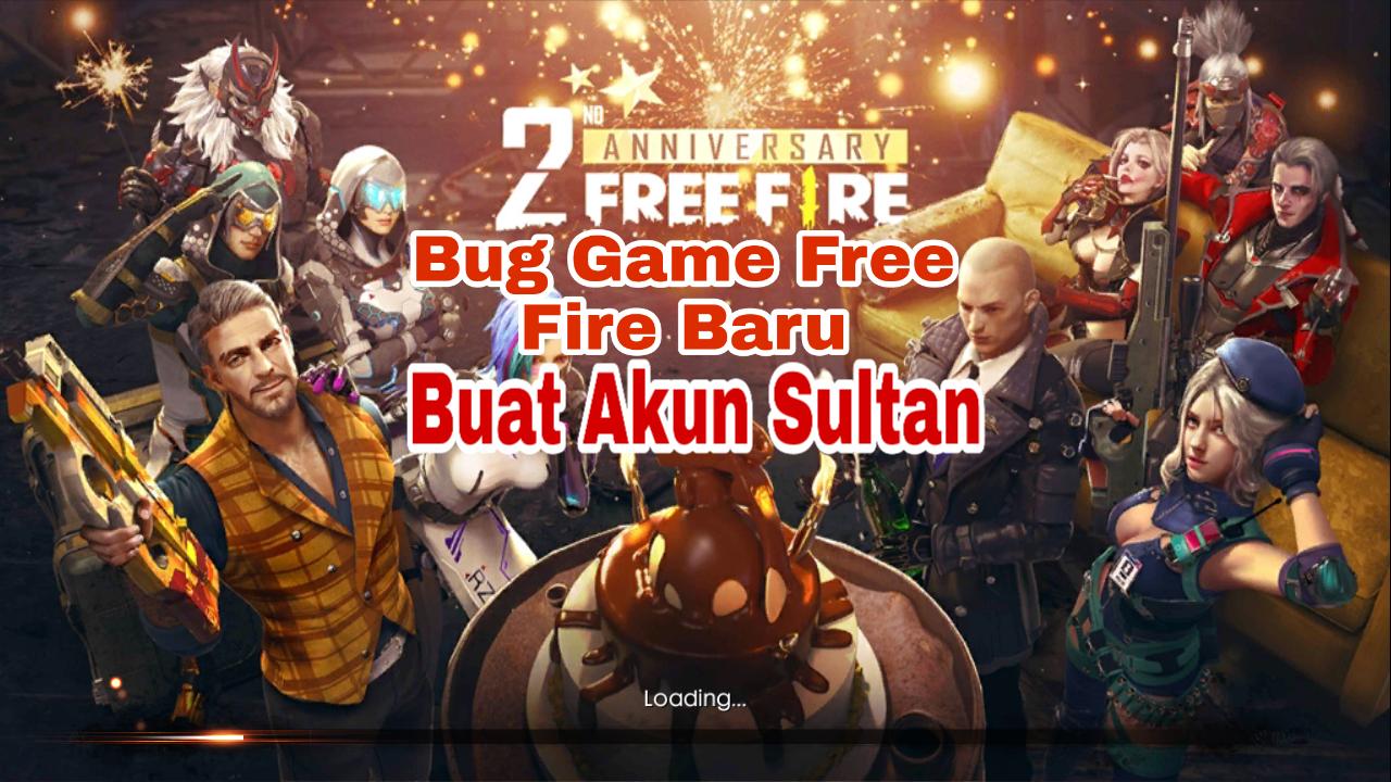 Bug Game Free Fire Baru untuk Akun Lama 2019