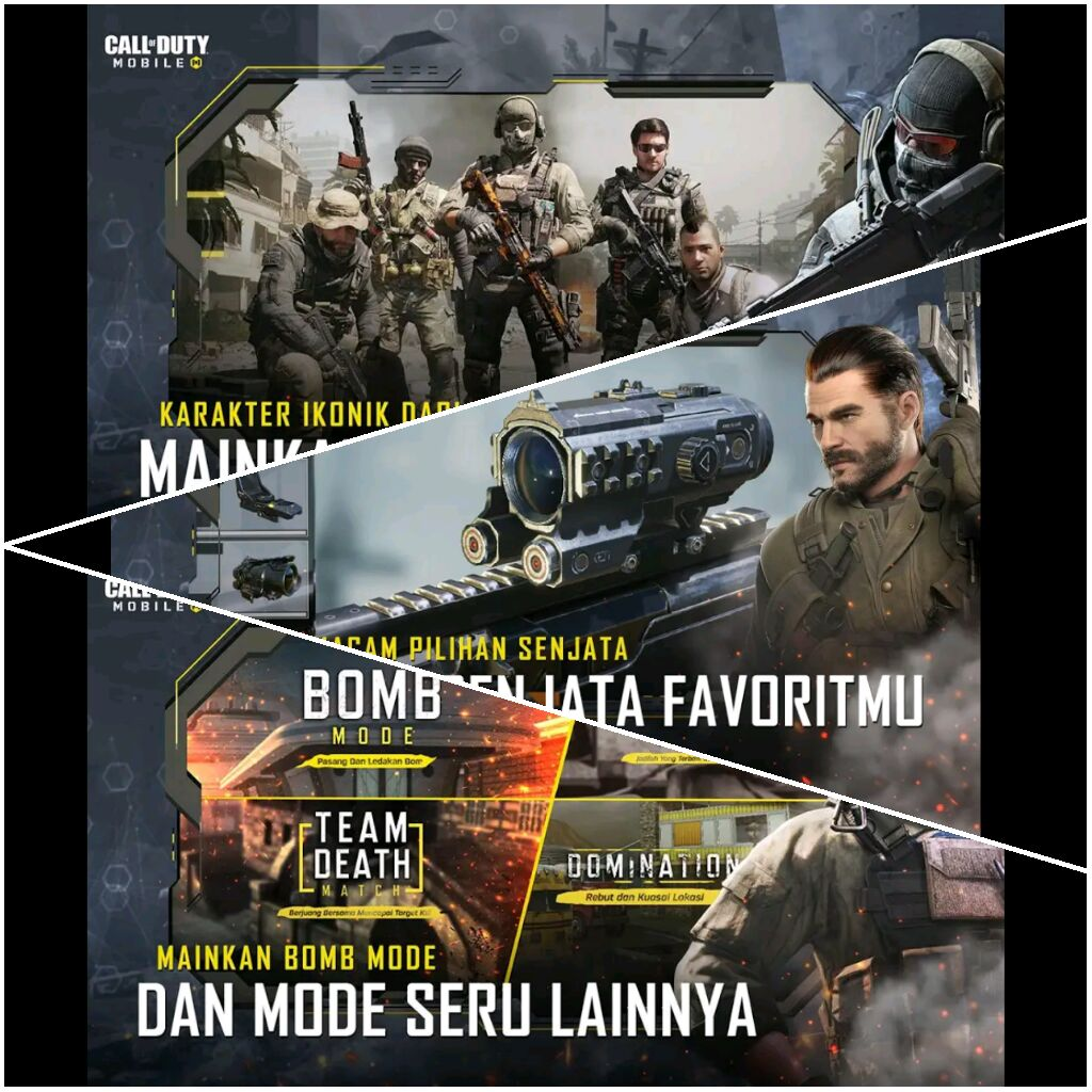 Game Android Baru Call Of Duty Mobile Garena Resmi Rilis di Playstore