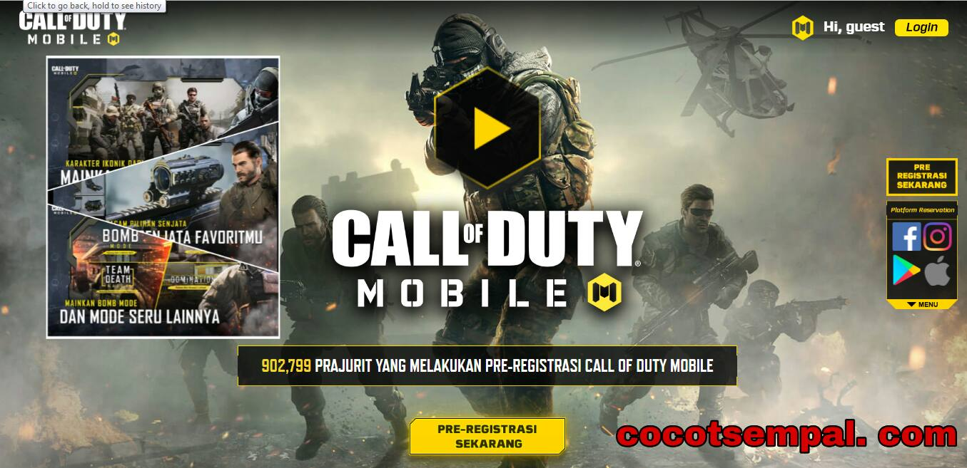 Game Call Of Duty Mobile Apk Download free For Android