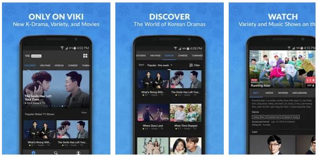 aplikasi Viki Nonton Drama korea