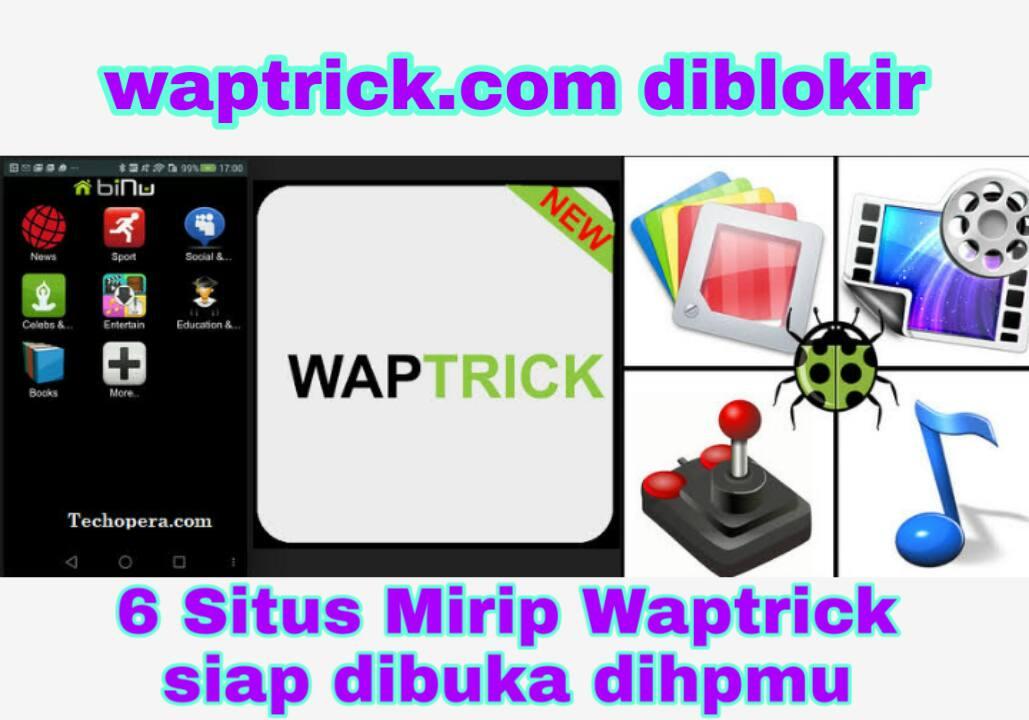 Cara Membuka Situs Waptrick Terbaru 2020 di Android