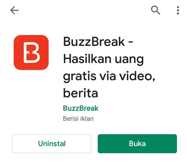 Cara Daftar Aplikasi Buzzbreak dan Dapat Saldo Dana GRATIS