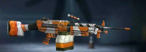 Skin Senjata M249 ClownFish Luck Royale