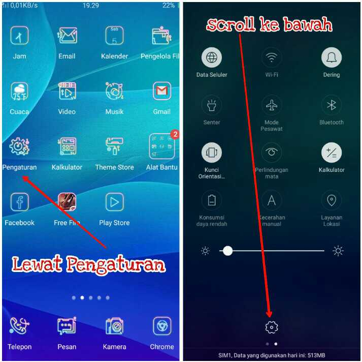 2 Cara Mengaktifkan Hotspot Wifi di Semua HP OPPO